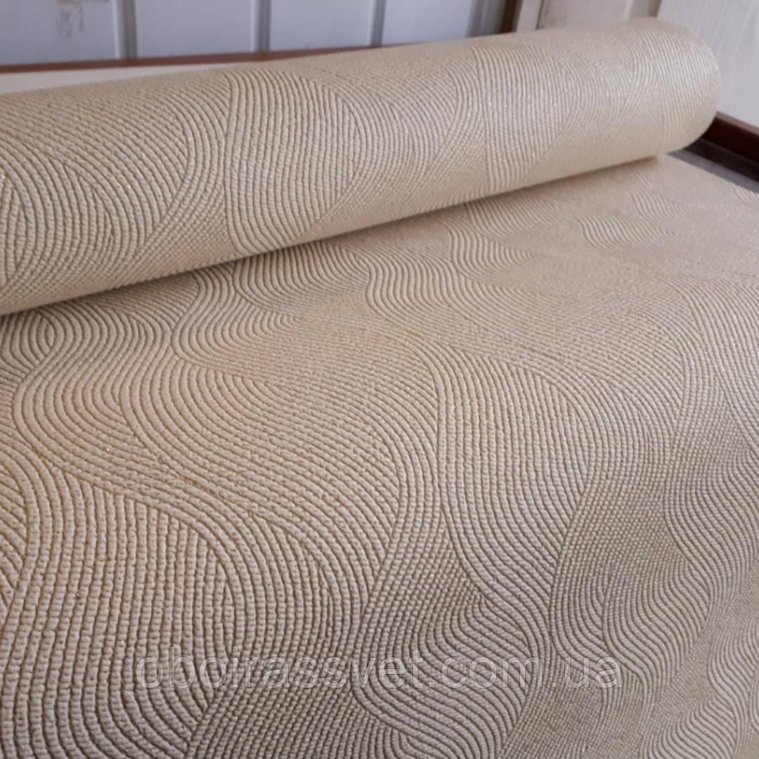 Обои Волна 2 3614-04 виниловые на флизелине,длина 15 м,ширина 1.06 =5 полос по 3 м каждая