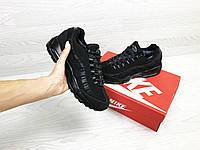 1ea6db7a Зимние подростковые Кроссовки Nike 6739 черные купить недорого ...