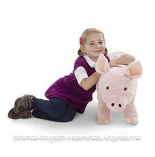 Мягкая игрушка Свинка Melissa&Doug, фото 3