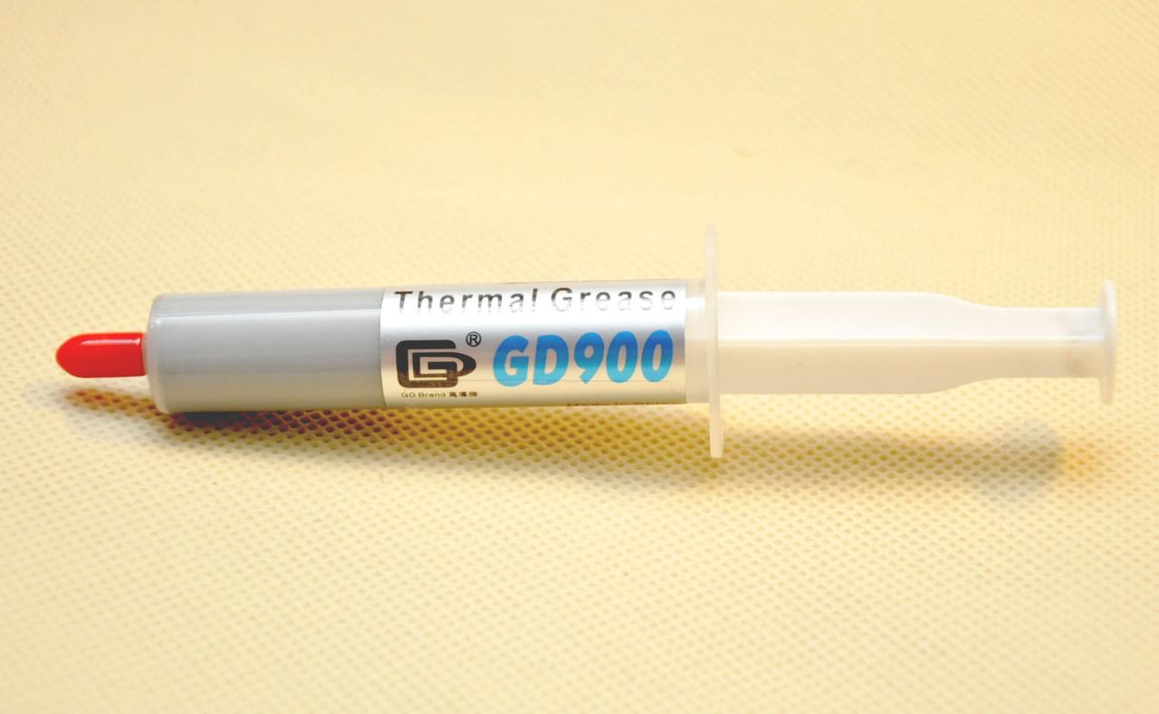 Термопаста GD900 x 15гр. шприц (SY15) серая 4.8 Вт/(м*К) теплопроводящая (TPa-GD900_15g)