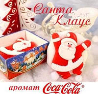 """Мыло ручной работы """"Санта Клаус"""""""
