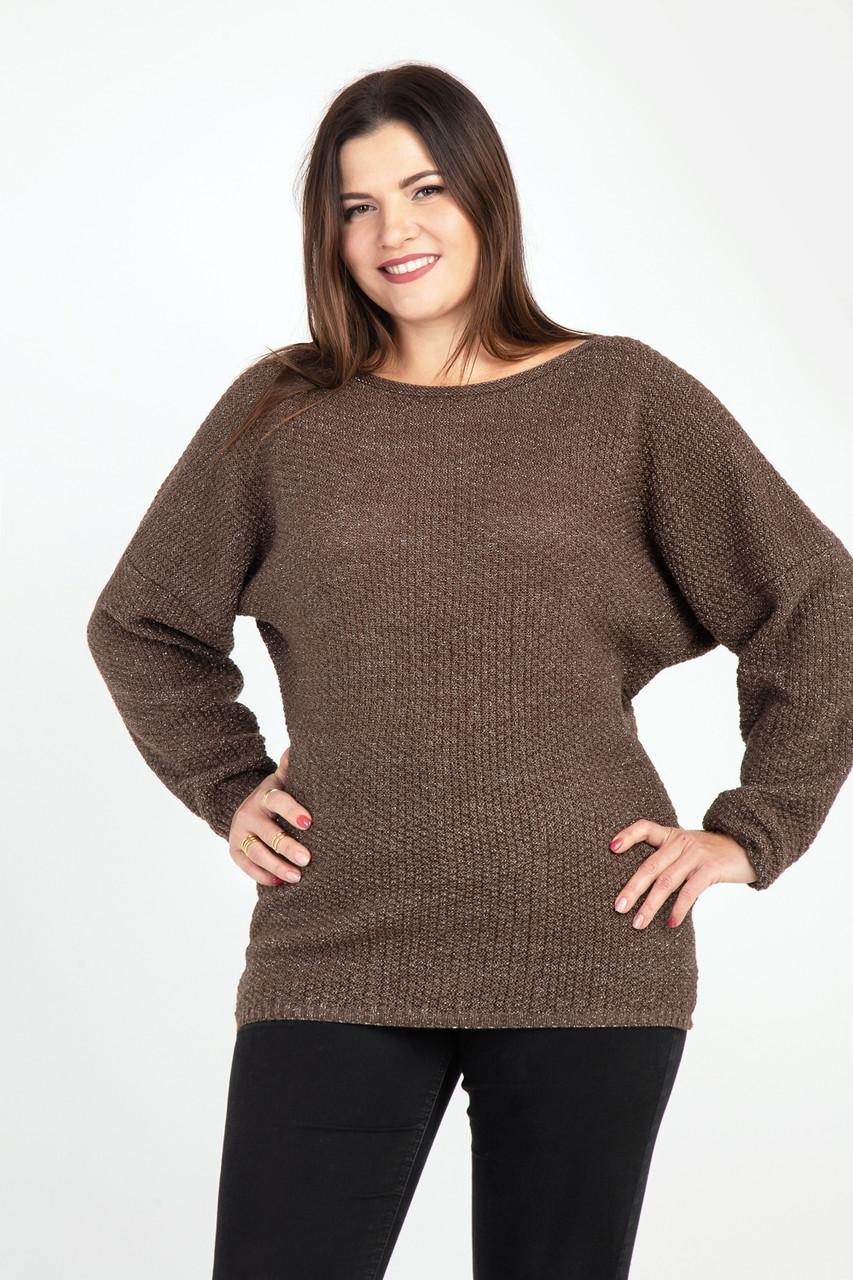 7eb5e006c14 Теплый свитер с люрексом 52-56 размера 2цвета - Интернет-магазин