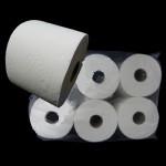 Туалетная бумага-6рулонов/50м d=12.5cм 2-слойная Z-BEST целлюлоза