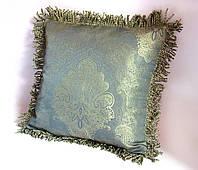 Декоративная подушка из коллекции Золотая мята эксклюзив