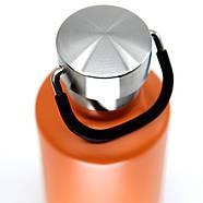 Термобутылка Cheeki Classic Insulated Orange (400 мл), фото 3