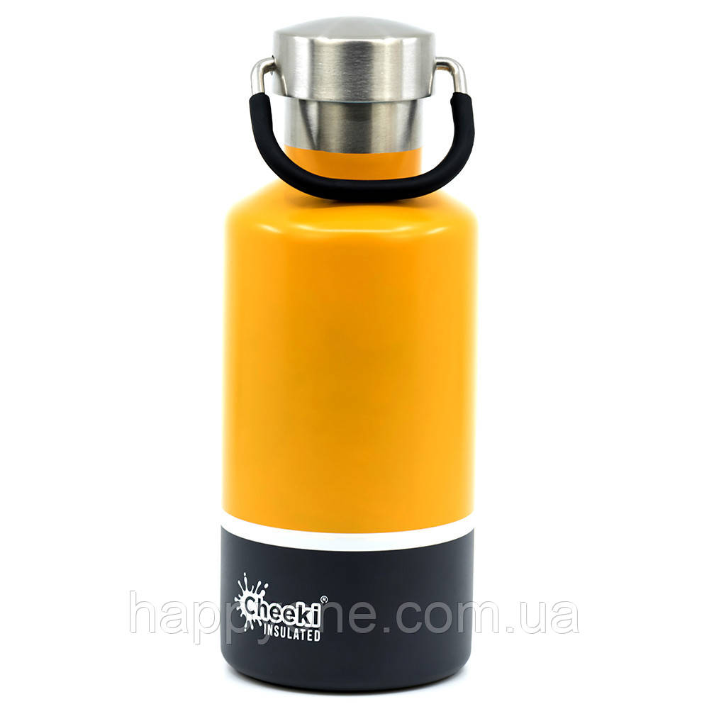 Термобутылка Cheeki Classic Insulated Sunshine Grey (400 мл)