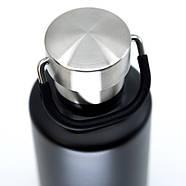 Термобутылка Cheeki Classic Insulated Matte Black (400 мл), фото 3