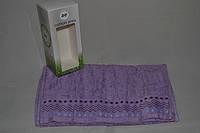 Подарочное махровое полотенце лицевое