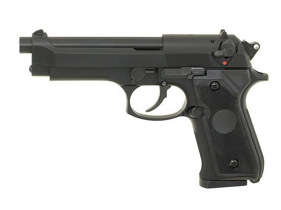 ST92F Non-Blowback Airsoft Gas Pistol - Black [STTi] (для страйкбола), фото 2