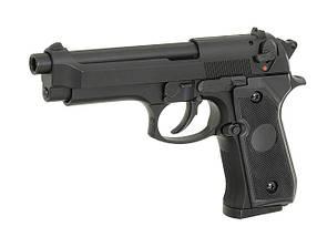 ST92F Non-Blowback Airsoft Gas Pistol - Black [STTi] (для страйкбола), фото 3