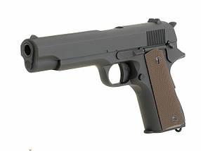 Пистолет Colt M1911 CM.123 [CYMA] (для страйкбола), фото 3