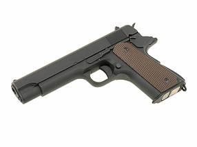 Пистолет Colt M1911 CM.123 [CYMA] (для страйкбола), фото 2