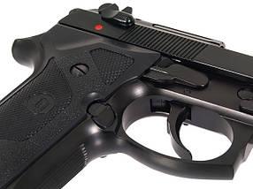 Beretta M9 VERTEC Full Metal greengas [KJW] (для страйкбола), фото 3