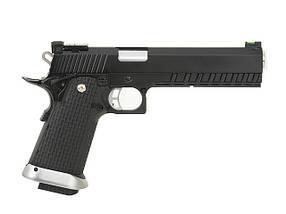 Пистолет Colt M1911 Hi-Capa 6″ GreenGas KP-06 [KJW] (для страйкбола), фото 2