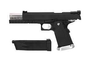 Пистолет Colt M1911 Hi-Capa 6″ GreenGas KP-06 [KJW] (для страйкбола), фото 3
