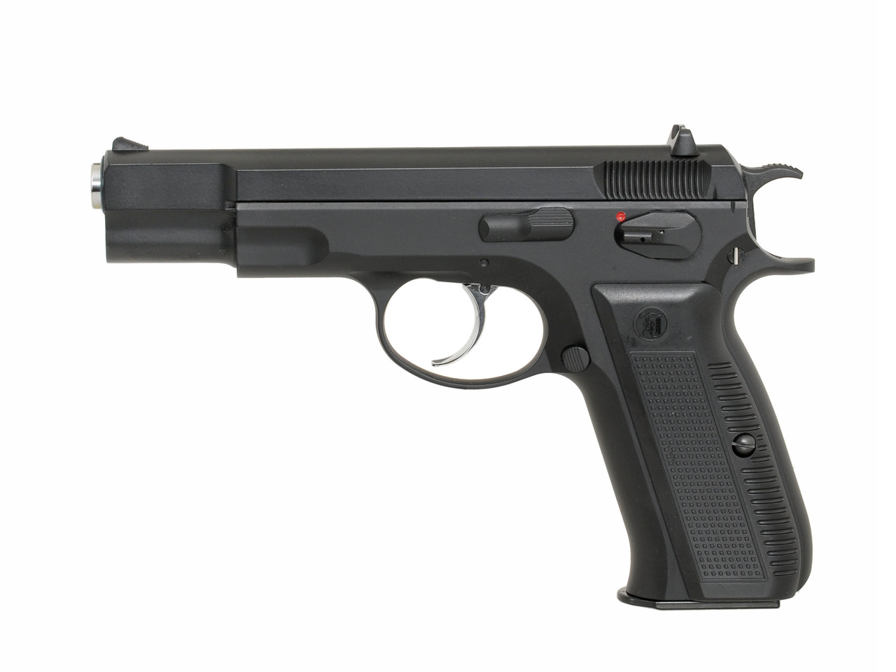 Пистолет CZ-75 greengas KP-09 [KJW] (для страйкбола)