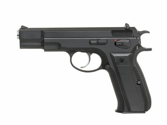Пистолет CZ-75 greengas KP-09 [KJW] (для страйкбола), фото 2