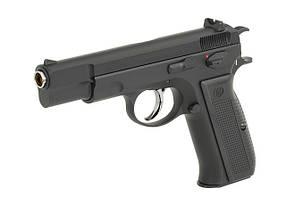 Пистолет CZ-75 greengas KP-09 [KJW] (для страйкбола), фото 3