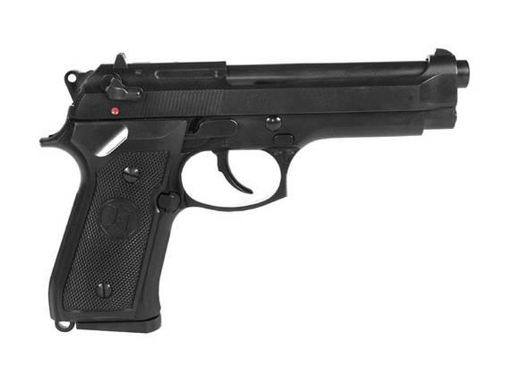 Beretta M9 Full Metal greengas [KJW] (для страйкбола), фото 2