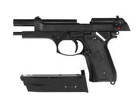 Beretta M9 Full Metal greengas [KJW] (для страйкбола), фото 3