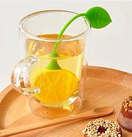 Ситечко силиконовое для заварки чая ,,Лимон,,