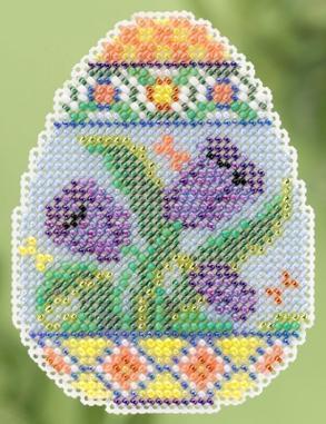 Набор для вышивки крестиком Tulip Egg Mill Hill