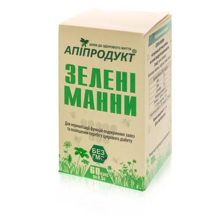 Зеленые манны 60 капсул, Апипродукт, фото 2