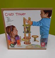 Игра-балансир Crazy Tower бамбуковая