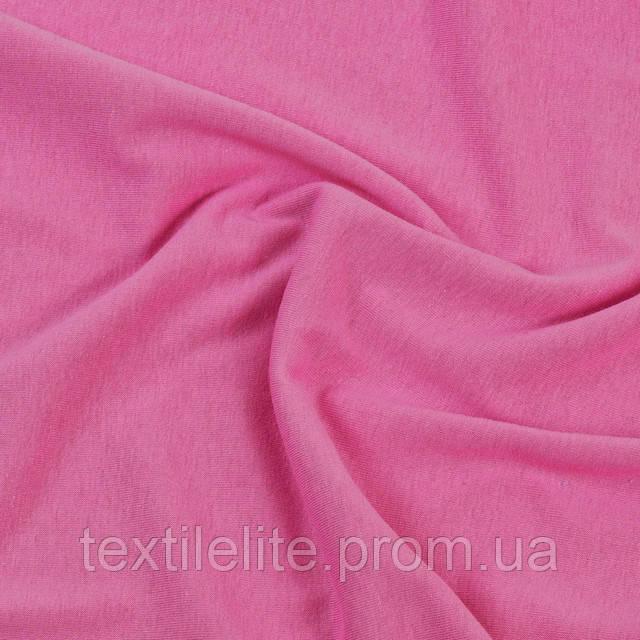 Кулирная гладь оптом. Цвет розовый. Трикотажная ткань. 100 % хлопок