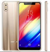 "Смартфон Homtom H10 4/64 Gold, 16+2/8Мп, 5.85"" IPS, 2sim, 4G, 3500мАh, MT6750T, 8 ядер"