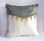 Коллекция (набор) декоративных подушек Золотая мята эксклюзив, фото 4