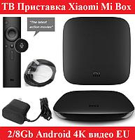 Smart TV Приставка Xiaomi Mi Box 3 2/8Gb приставка android tv box смарт тв приставка андроид для телевизора, фото 1