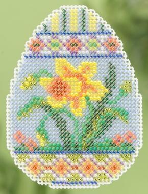 Набор для вышивки крестиком Daffodil Egg Mill Hill