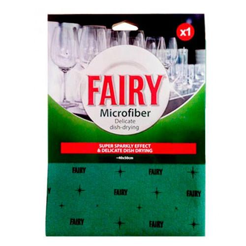 Салфетка FAIRY с микроволокнами для стеклянных изделий DELICATE 40х50см
