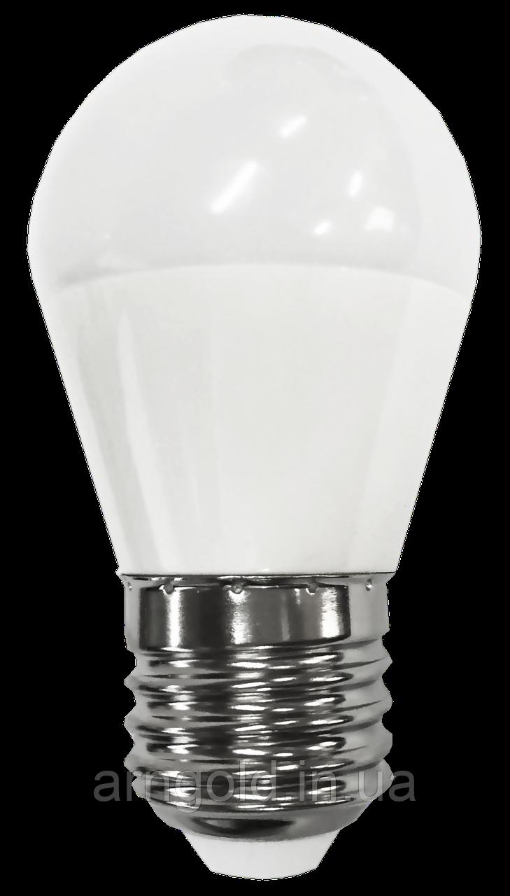 Лампа светодиодная шар 6W Е27 220V