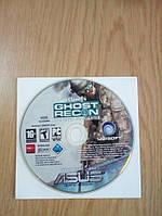 Игра Tom Clancy's Ghost Recon Advanced Warfighter. Винтажный диск с ключом активации.