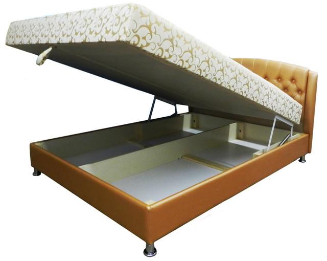 Кровати в оббивочных материалах