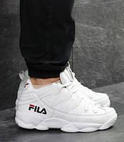 Мужские кроссовки Fila, зимние, пресс кожа, белые, Фила, 2018, фото 1