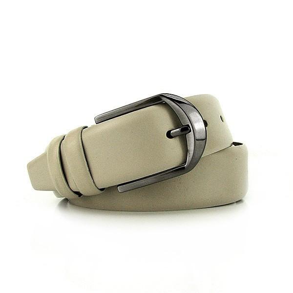 Ремень классический кожаный мужской под брюки Bond 3200 Турция