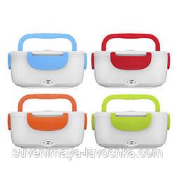 Электрический ланч-бокс Electronic Lunchbox с подогревом 12V