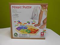 Игра-мозаика Mosaic Puzzle бамбуковая