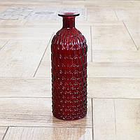 Ваза Джесси красная матовая стекло h25см Гранд Презент 7056000-1 кр-мат