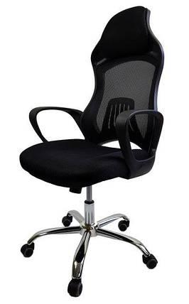 Крісло офісне Eclipse D38 Black, фото 2