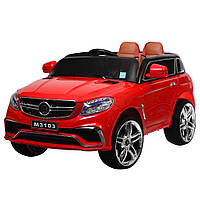 Детский электромобиль джип M 3103(MP4)EBLR-3Mercedesкрасный Гарантия качества Быстрая доставка