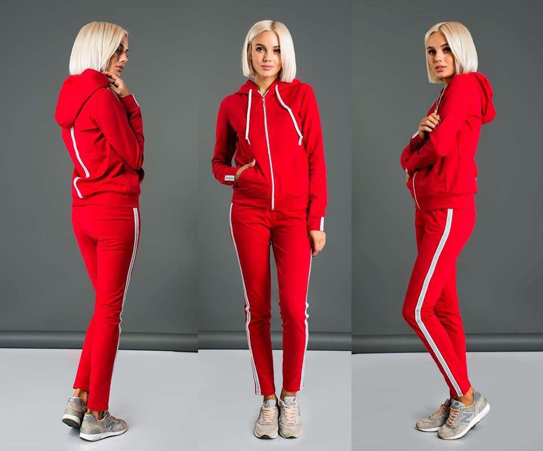 51c8903e Женский стильный спортивный костюм двухнить до больших размеров 579