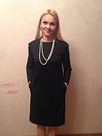 Платье черное с карманами, фото 1