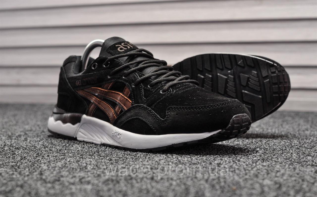 9a8ee37e Мужские зимние кроссовки в стиле Asics Gel Lyte V, черные. Код товара: T