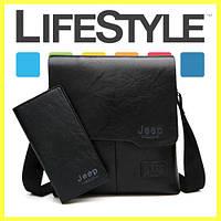 Мужская сумка + кошелек Jeep Buluo и мультитул!