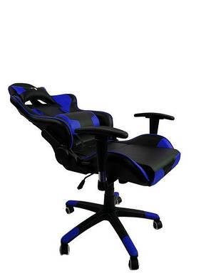 Кресло компьютерное 7F GAMER BLUE, фото 2