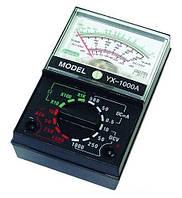 Тестер YX-1000A, стрелочный мультиметр, напряжение, постоянный ток, сопротивление